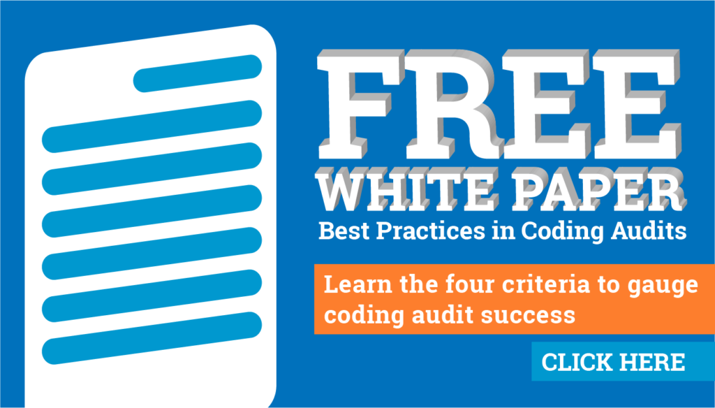 Free best practices coding audit white paper for healthcare revenue integrity