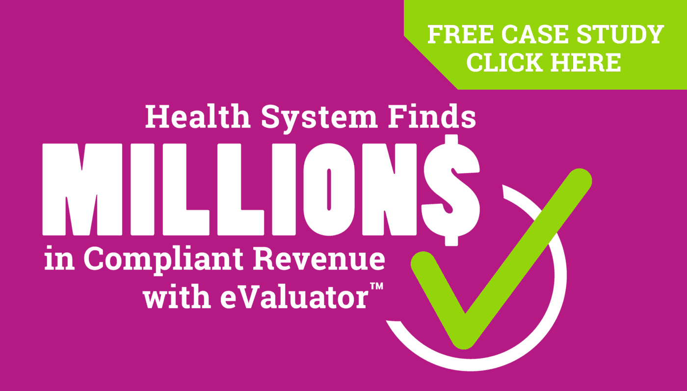 Learn how Streamline Health eValuator helps drive revenue integrity