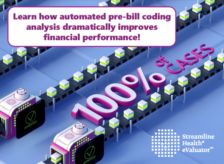 Video on how pre-bill automation drives dramatic financial improvements in healthcare